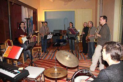 stage musique pâques jazz blues guitare saxo